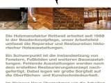 Infobox Holzmanufaktur