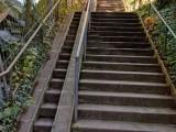 Treppe, wie geschleckt