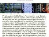 Infobox: F&E